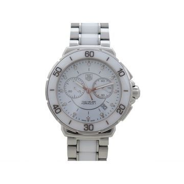 Tag Heuer Formula 1 White Steel Watches