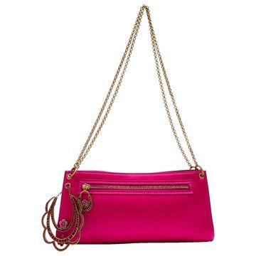 John Galliano Purple Cloth Clutch bags
