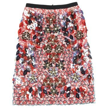 Peter Pilotto Red Silk Skirts