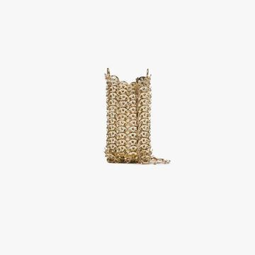 Paco Rabanne Gold 1969 chain mini bag