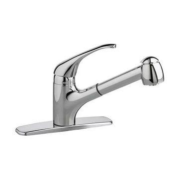 American Standard 4205.104 Reliant Plus Pullout Kitchen Faucet, Chrome