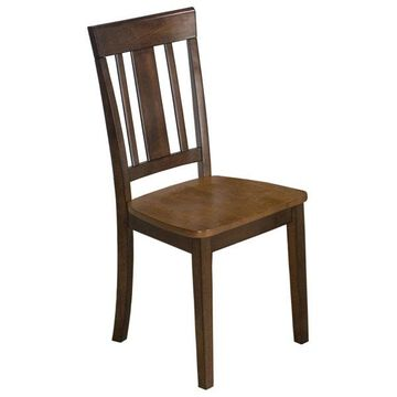Kura Espresso/Canyon Gold Dining Chairs, Set of 2