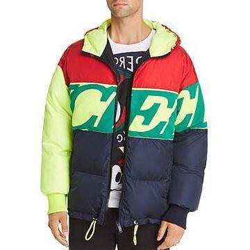 Iceberg Colorblock Logo Puffer Jacket