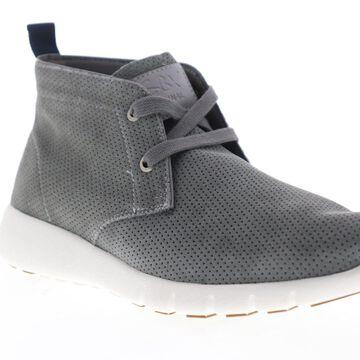 GBX Amaro Mens Gray Nubuck Casual Fashion Sneakers Shoes
