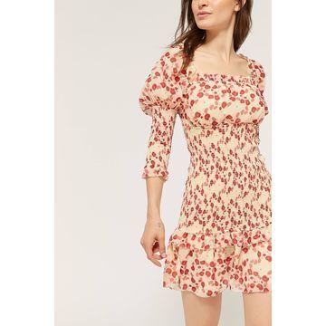 Keepsake Charmed Puff Sleeve Mini Dress