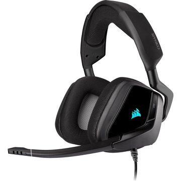 Corsair VOID RGB ELITE USB Premium Gaming Headset with 7.1 Surround Sound USB