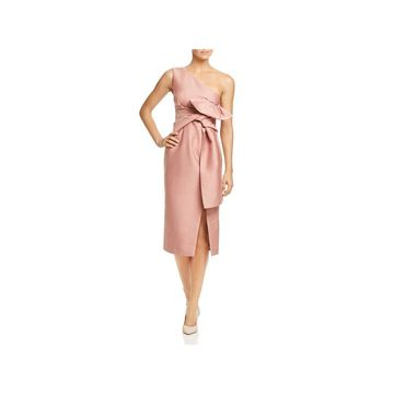 Keepsake Womens Party Dress One Shoulder Midi