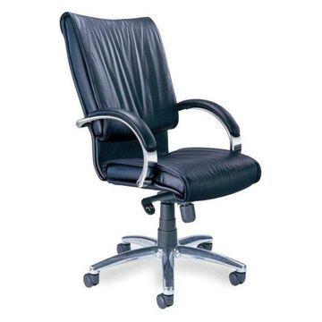 Mayline Mercado President Office Chair in Black