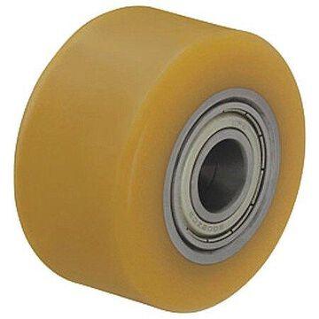 ZORO SELECT VSTH 80/20K-BB0.5 Caster Wheel,Polyurthan,3-1/8 in.,617 lb
