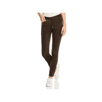 Paige Womens Ankle Jeans Corduroy Velvet
