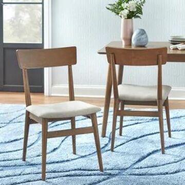 Simple Living Newington Dining Chairs (Set of 2) (Mocha)