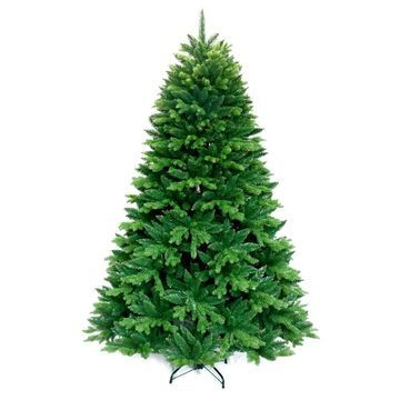 ALEKO Traditional Green Artificial Christmas Holiday Lush Tree 7 Foot