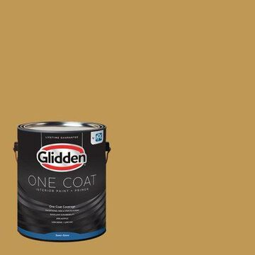 Glidden One Coat Interior Paint and Primer, Eagle Eye/Purple, 5 gallons, Semi-Gloss