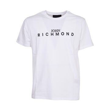 John Richmond White T-shirt With Logo