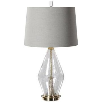 Uttermost Spezzano Crackled Glass Table Lamp