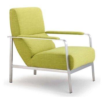 Zuo Modern Jonkoping Arm Chair, Lime, 500346