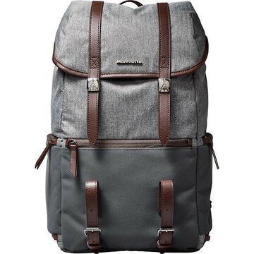 ''Manfrotto MB LF-WN-BP Camera & Laptop Backpack for DSLR Lifestyle Windsor, Grey''