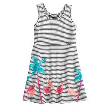 Toddler Girl Jumping Beans Print Skater Dress