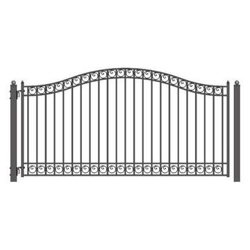 Aleko Steel Single Swing Gate Dublin New Style 18'
