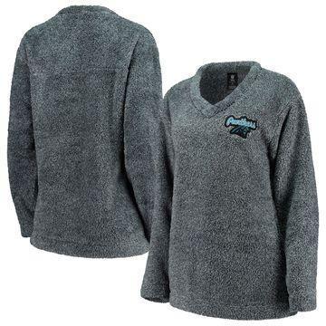 Carolina Panthers Concepts Sport Women's Trifecta Pullover Sweatshirt Charcoal