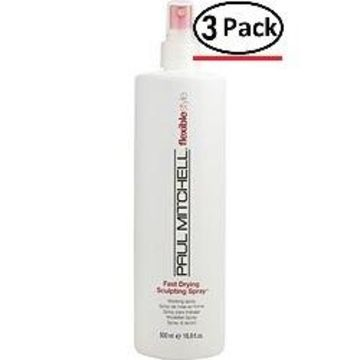 Paul Mitchell By Paul Mitchell Fast Drying Sculpting Medium Hold 16.9 Oz For Unisex (Package Of 3)