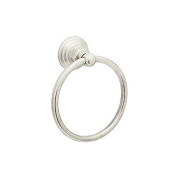 Rohl 6in Towel Ring in Polished Nickel