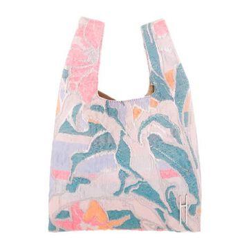 Psychedelic Jacquard Mini Shopper Pink
