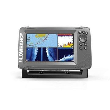 Lowrance HOOK2 7 - 7-inch Fish Finder with TripleShot Transducer and US / Canada Navionics+ Map Card