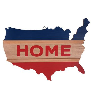 Patriotic Home Wall Sign by Ashland