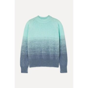 Dries Van Noten - Knitted Ombre Sweater - Turquoise