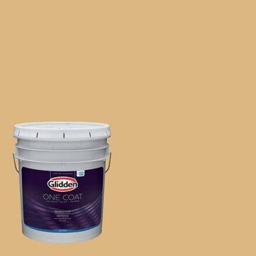 Glidden One Coat Interior Paint and Primer, Brandied Pears/Green, 1 quart, Flat