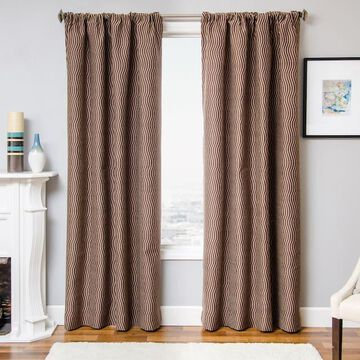 Softline 1-Panel Larson Stripe Window Curtain