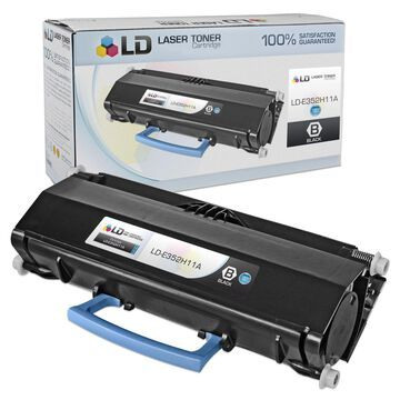 Compatible E352H11A High Yield Black Laser Toner Cartridge for Lexmark