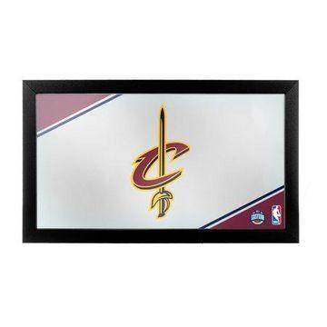 Trademark Gameroom Cleveland Cavaliers NBA Framed Logo Mirror