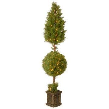 National Tree Company Pre-Lit 72-Inch Juniper Spiral Tree