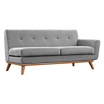 Modway Engage Right-Arm Loveseat, Expectation Gray
