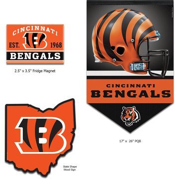 Cincinnati Bengals WinCraft Home Goods Gift Set