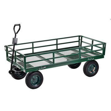 Sandusky Heavy-Duty Steel XL Utility Crate Wagon - 60