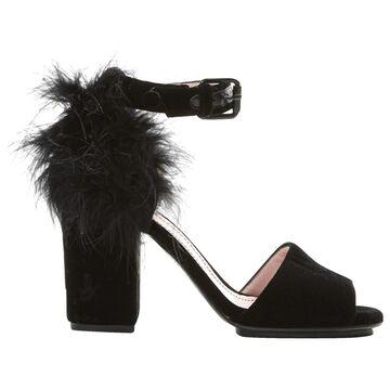 Sonia Rykiel \N Black Velvet Heels