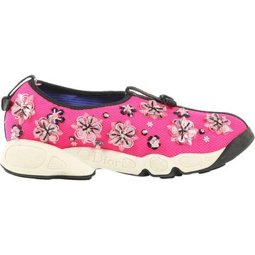 Dior Dior Fusion Pink Cloth Trainers
