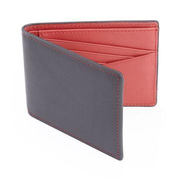 Royce Leather 100-step Wallet RFID Men's Slim Bifold Wallet