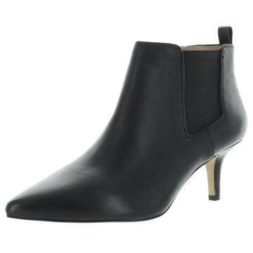 Corso Como Womens Darshina Ankle Boots Leather Pointed Toe - Black Leather