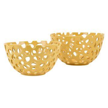 IMAX Alya Decorative Bowls - Set of 2