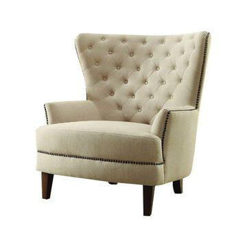 Homelegance Rhett Accent Chair, Beige
