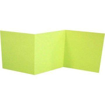 6 1/4 x 6 1/4 Z-Fold Invitation - Wasabi (500 Qty.)