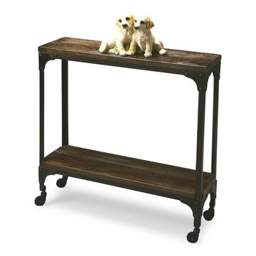 Butler Gandolph Industrial Chic Console Table