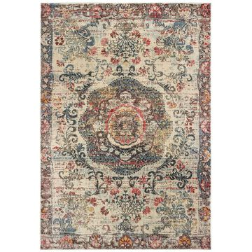 Archer Lane Keppel 5 x 8 Indoor Distressed/Overdyed Global Area Rug | 047PANH75L
