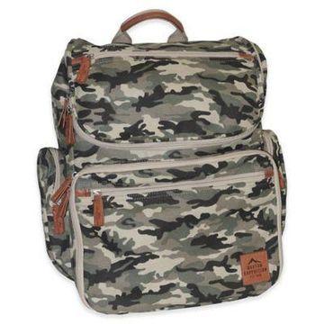 Buxton Expedition II Huntington Gear Backpack in Camo