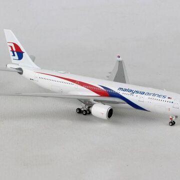 Phoenix PH1795 Malaysia A330-200 1-400 Reg No. 9M-MTU Die Cast Airplane Model