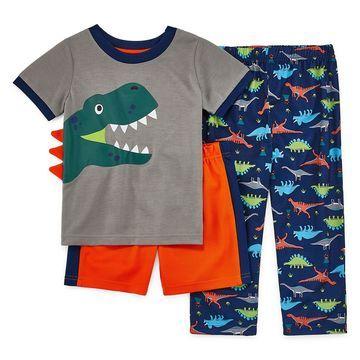 Rene Rofe Explorer Club Boys 3-pc. Pajama Set Toddler